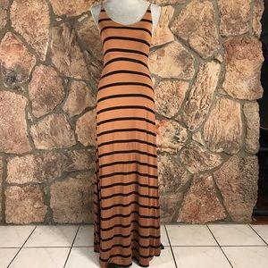 Flattering maxi dress
